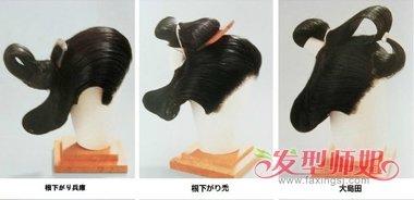 日本江户川时期女士发髻全集 日本古代女子发髻特色一览-轻博客
