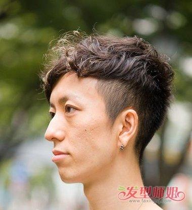亚洲男生怎么做掏空发型 掏空短发成潮男必备