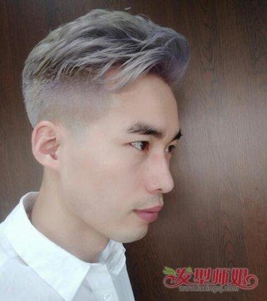 快手男生最爱一次性蜡染颜色 短发做时尚蜡染了解一下