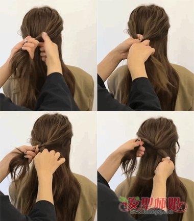 是假的编发但是真的气质 快速给长发扎个气质辫子的方法