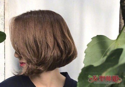你的短发从侧面看是什么样的? 短发不需烫太多发尾烫卷就能360°无死角