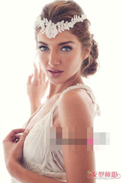 新娘百变扎盘发唯美浪漫不俗气 西方新娘适合的盘发十分迷人