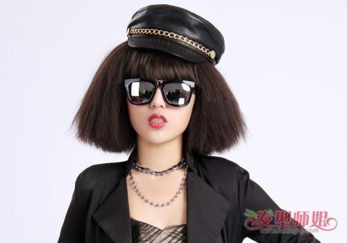 玉米须短发简直就是头发少女生的救星! 2019中年女士新款玉米须短发设计