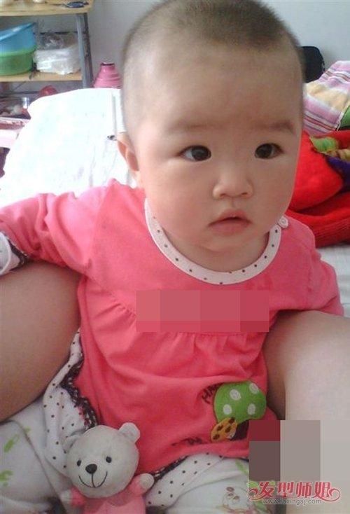 1岁以内女婴儿适合剪哪些发型 给你做出最好的示范短发造型图片-轻博客