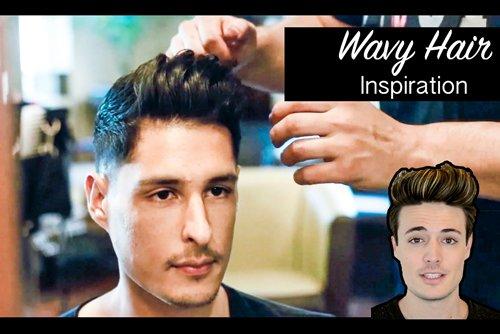 自来卷男生适合制作哪些发型图 动感潮流范精心剃出的男生短发