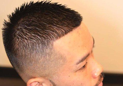 做圆寸用直发好还是自然卷好 超有韵味男生圆寸发型梳法大全