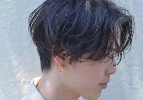 男生吹风机吹出烫发感的技巧图解 吹头发和吹发型是完全不同的
