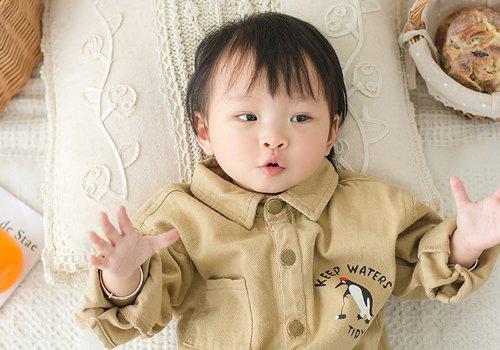 1到3岁女宝宝流行短发图片 软萌小萝莉梳清新可爱短发真漂亮