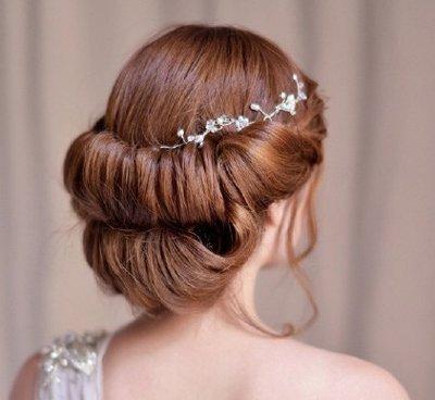 谁说盘发不能美美哒?法国贵妇盘发不要太高雅,尤其喜欢第四款