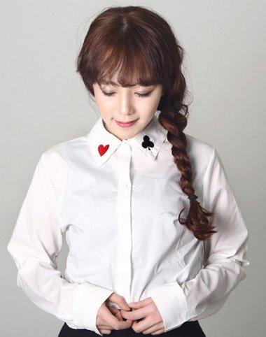 齐刘海怎么扎好看韩式齐刘海长发 齐刘海长发怎么梳