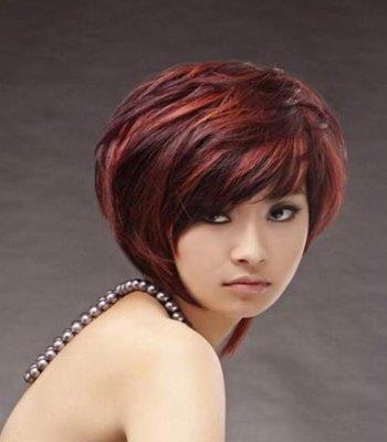 大脸盘适合剪什么样的短发发型 适合大脸女孩的时尚短发发型