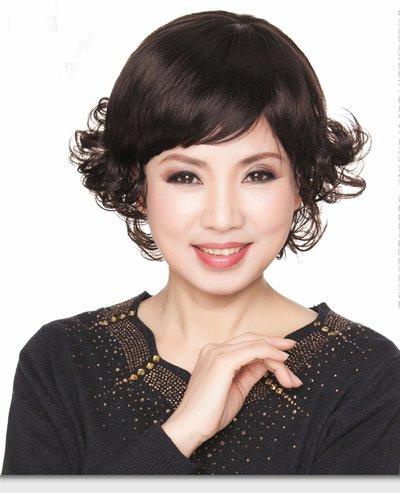 中老年女性短发发型 适合中老年女性的时尚短发发型图片