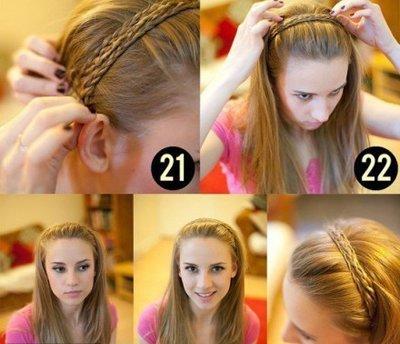 直头发如何扎起来好看 扎长直头发的方法图解