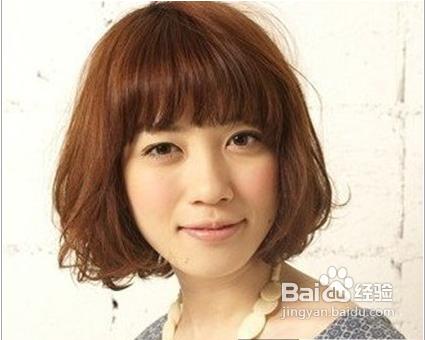 夏季齐刘海短发编发,最有学生味道的流行