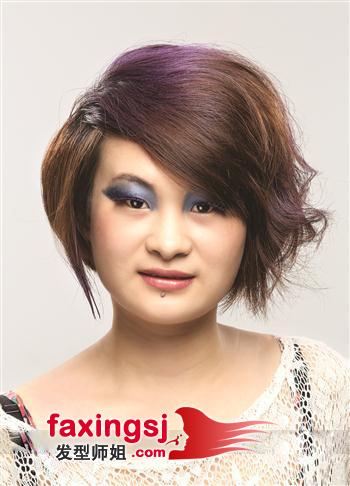 中性发型设计_方脸女生短发发型设计 中性时尚的短发造型图片(3)_发型师姐