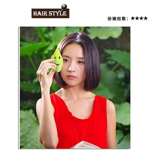 气质女星董洁短发发型 美不美无关于头发长短