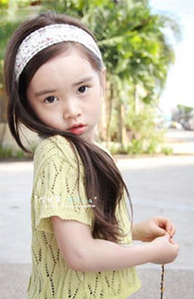 2015Baby girl最新发型 呆萌清新似公主