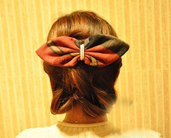 晚宴发型图片步骤 简单晚宴DIY发型