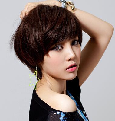 百变时尚烫卷蓬蓬短假发套图片 2016年最流行的短卷发