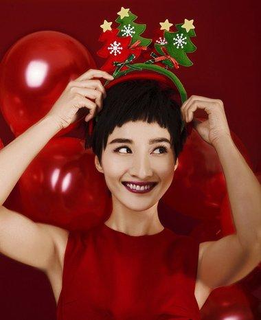 圣诞节+元旦节不止是红色帽子 这些发饰是增添萌值的好帮手