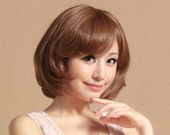 圆脸女孩适合什么样的波波头 适合圆脸女孩的波波头发型图片