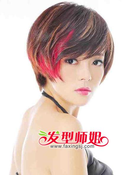 椭圆脸型适合的刘海_短发发型适合什么样的脸型(2)_发型师姐