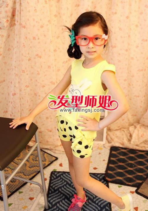 2013最新儿童编发大全 最新宝宝辫子发型图片